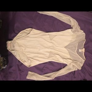 Two medium long sleeve body suits